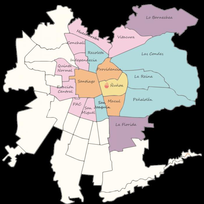 Mapa-Santiago